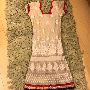 💥Traditional Indian Tunic Dress💥 SPARKLY!